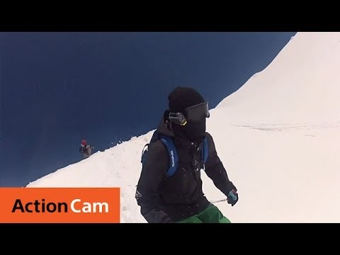 Backcountry Ski Demo | Action Cam | Sony