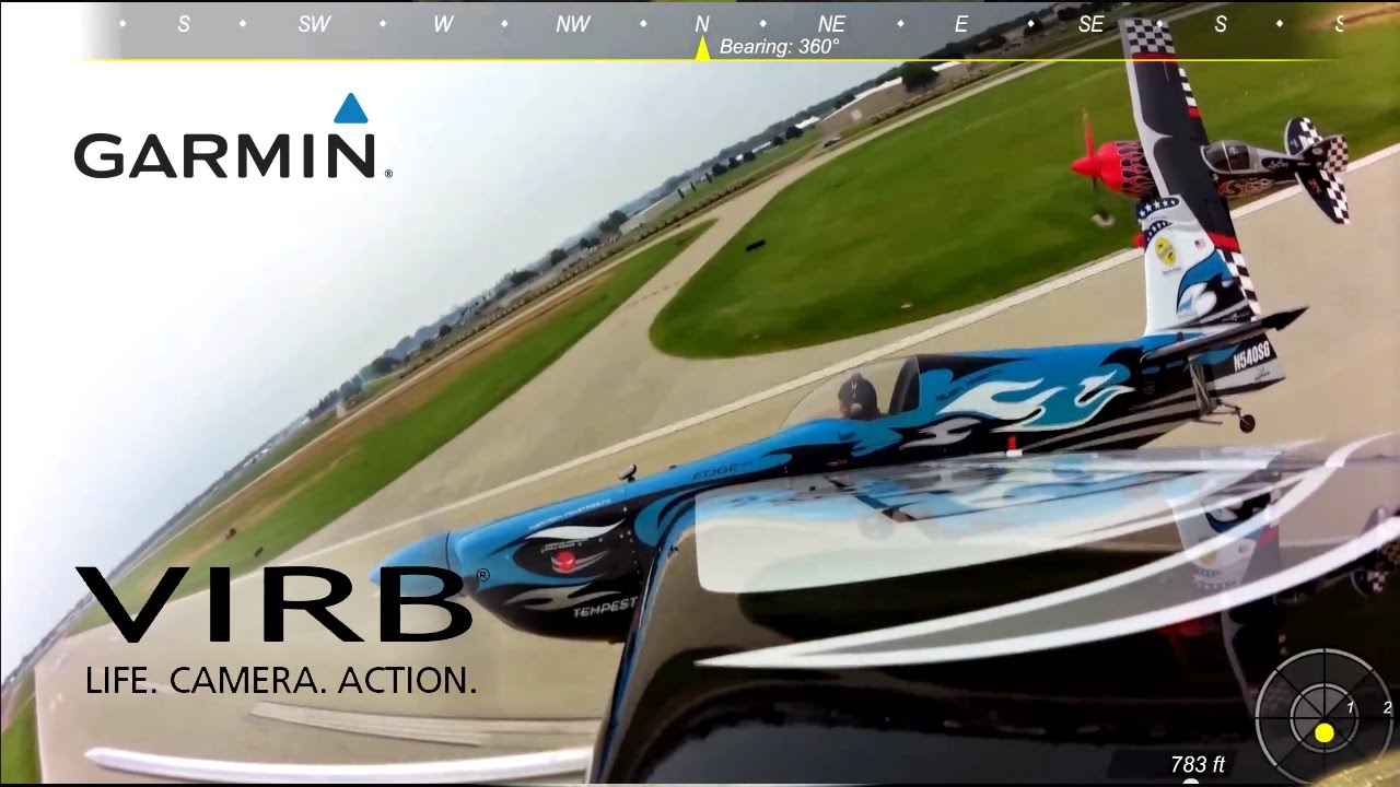 Garmin VIRB Elite: Flying with the Skip Stewart Airshow Team