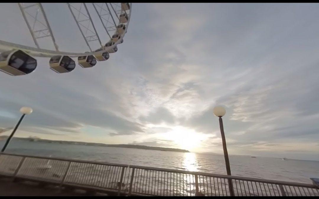 Seattle Waterfront & Great Wheel 360