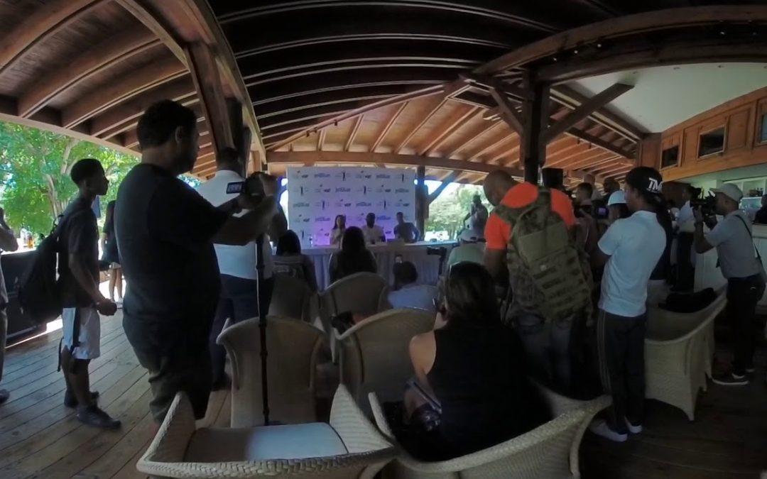 David Ortiz Speaks at the David Ortiz Classic in the Dominican Republic