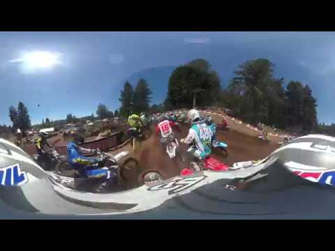 Garmin VIRB 360:  Washougal MX Moto with Pro RJ Hampshire