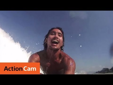 Surfing with Luke Landrigan | Action Cam | Sony