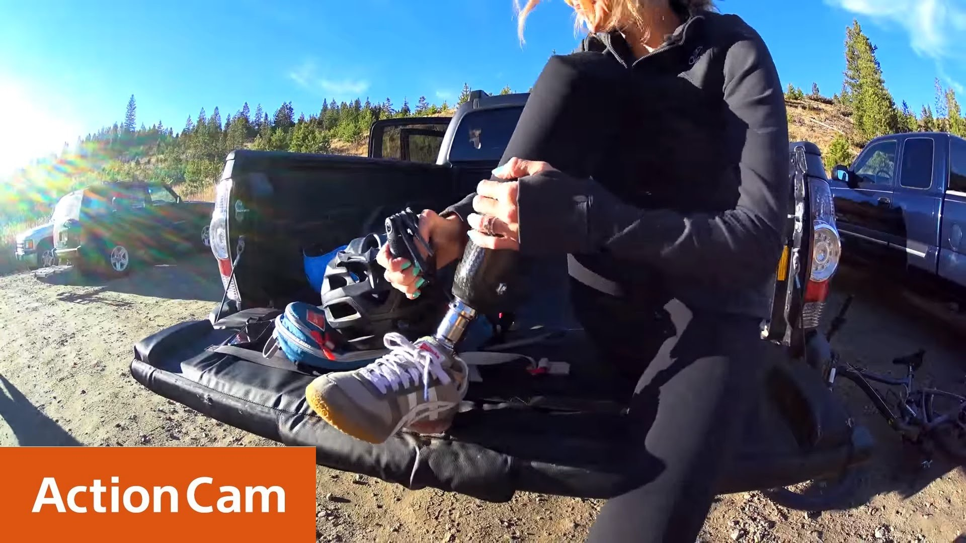 Action Cam | Amy Purdy – Adaptive Mountain Biking Camp 4K | Sony