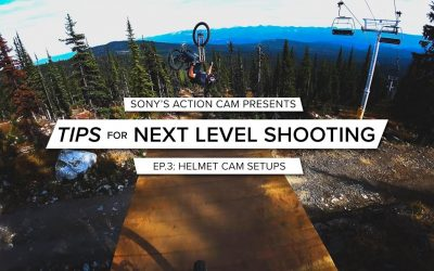 Action Cam | Tips for Next Level Shooting | Ep. 3 Helmet Cam Mounting Setups | Sony