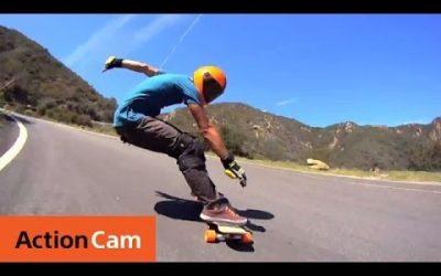Impressive Downhill Longboarding HD Video | Action Cam | Sony