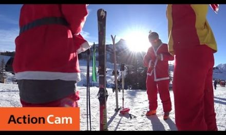 Santa Ski 2014 Extended Cut | Action Cam | Sony