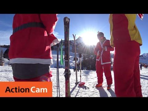 Santa Ski 2014 Extended Cut | Action Cam | Sony