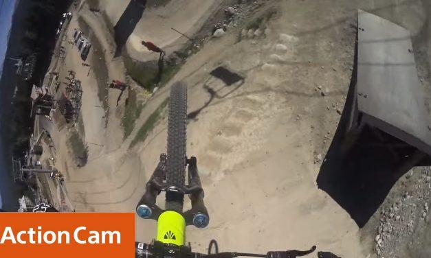Action Cam | Brett Rheeder Crankworx Joyride POV | Sony