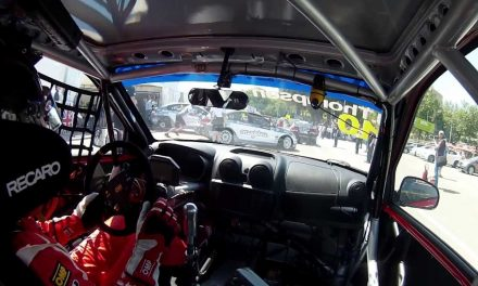 Drift HD Ghost: James Thompson Onboard Lap | World Touring Car Championshipn 2013 | Porto, Portugal