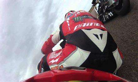 Drift HD Ghost: Onboard Josh Waters British Superbike Crash
