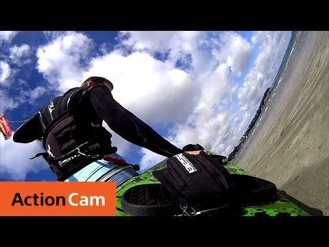 Kiteboarding in New Zealand | Action Cam | Sony