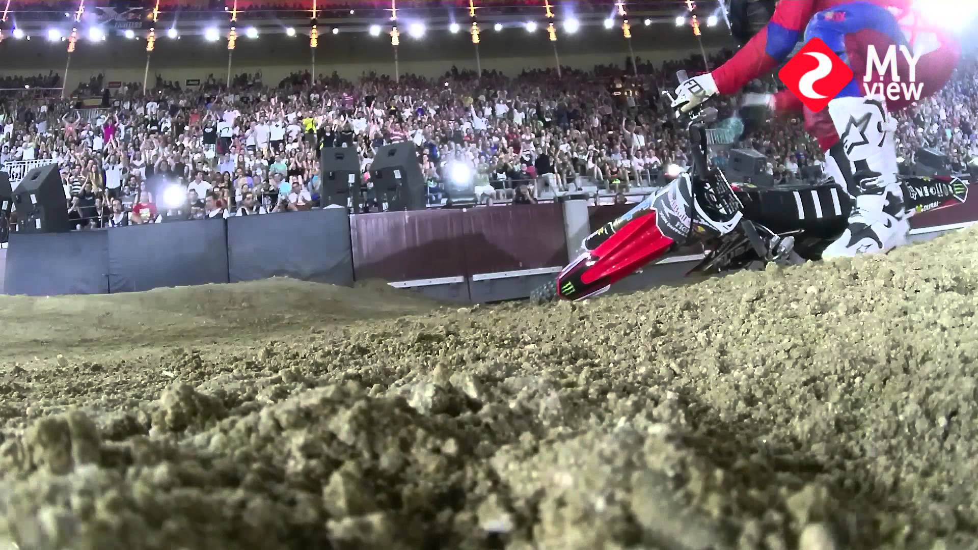 Drift MYVIEW: Josh Sheehan   Red Bull X-Fighters   Madrid