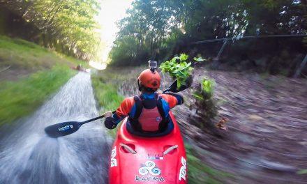 GoPro: Drainage Ditch Kayaking