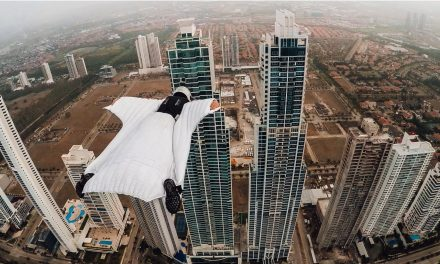 GoPro: Roberta Mancino Wingsuits Through Panama City Skyline