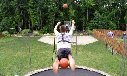 GoPro: Basketball Trampoline Trickshots with Kevin Libertowski