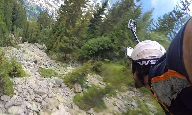 GoPro: Graham Dickinson's Insane Wingsuit Flight – Front Helmet Cam 2 of 3