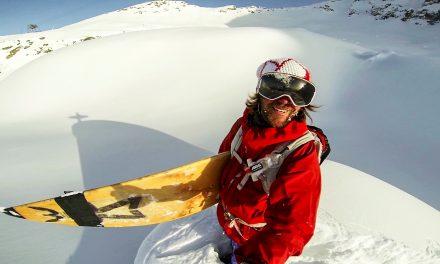 GoPro: Pro Skier Surfs Powder in Austria