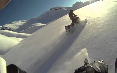Snowmobiling-Snowboarding with Videograss Productions