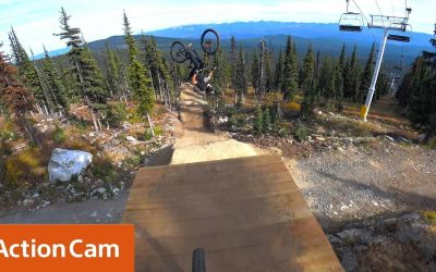 Action Cam | Thomas Vanderham & Brett Rheeder Follow Cam in 4K! | Sony