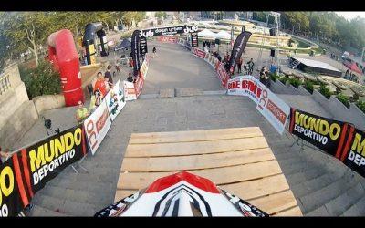 Drift HD Ghost: Urban Downhill MTB Track Run in Barcelona