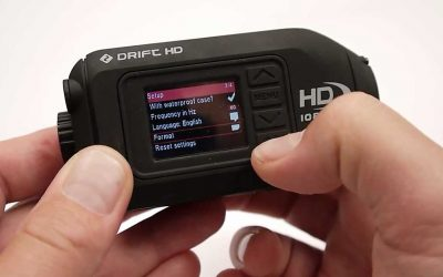 Updating the Firmware on the Drift HD Camera
