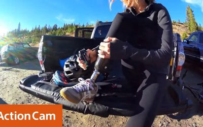 Action Cam | Amy Purdy – Adaptive Mountain Biking Camp 4K | Sony