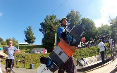 Drift Vision: Wakeboarding With Valentin Perret in Rouffiac