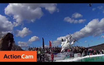 Red Bull Jump & Freeze | Action Cam | Sony