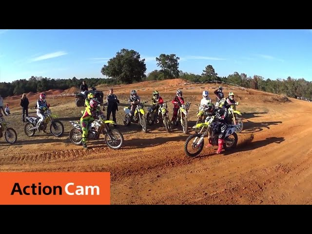 Suzuki Camp with Ricky Carmichael | Action Cam | Sony