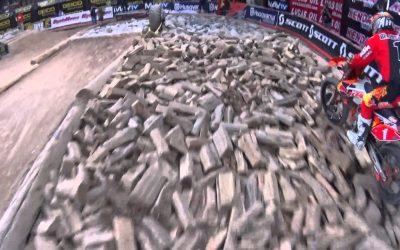 Cody Webb Wins Main Event at Endurocross | Action Cam | Sony