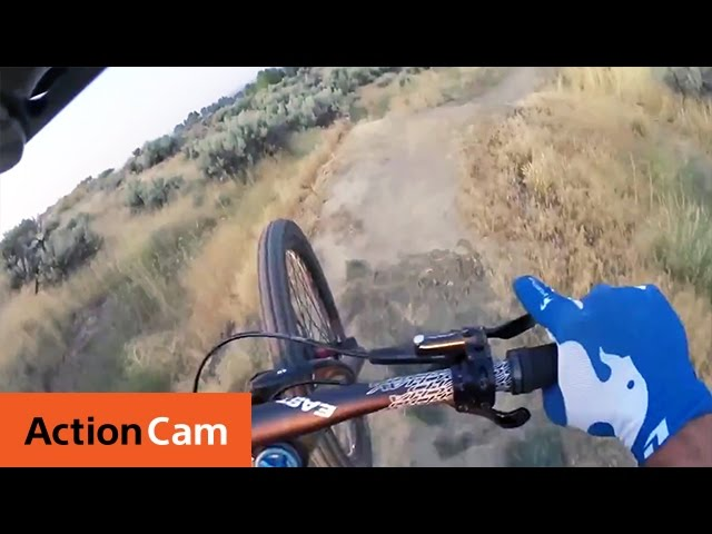 Sage Slays the Singletrack | Action Cam | Sony