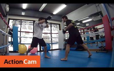 Kick Boxing with ISKA Bantam Weight World Champion Nobuchika Terado | Action Cam | Sony