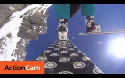 High Altitude Speed Flying | Action Cam | Sony