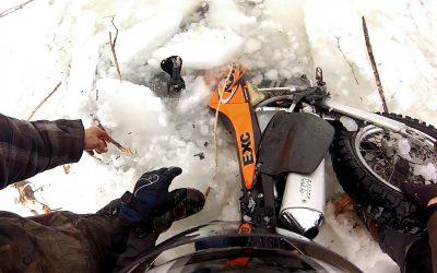 GoPro Awards: Dirtbike Polar Plunge