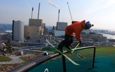 GoPro: Jesper Tjäder – CopenHill | Skiing On Top a Building