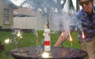 GoPro: Bullet Time Experiments with The Backyard Scientist