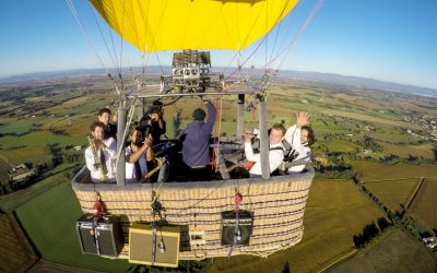 "GoPro Awards: Charlie and the Soap Opera – ""Alright"" – Hot Air Balloon Music Video"
