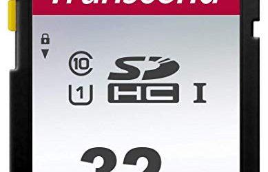 Transcend TS32GSDC300S-E 32GB UHS-I U1 SD Memory Card