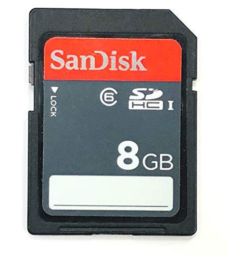 SanDisk Ultra 8GB SDHC Class 6 UHS-1 SDSDU-008G 30MB/S (Renewed)