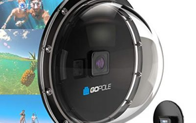 GOPOLE Dome Pro – Over/Under Dome for GoPro Hero7/6/5