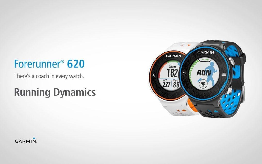 Forerunner 620: Running Dynamics