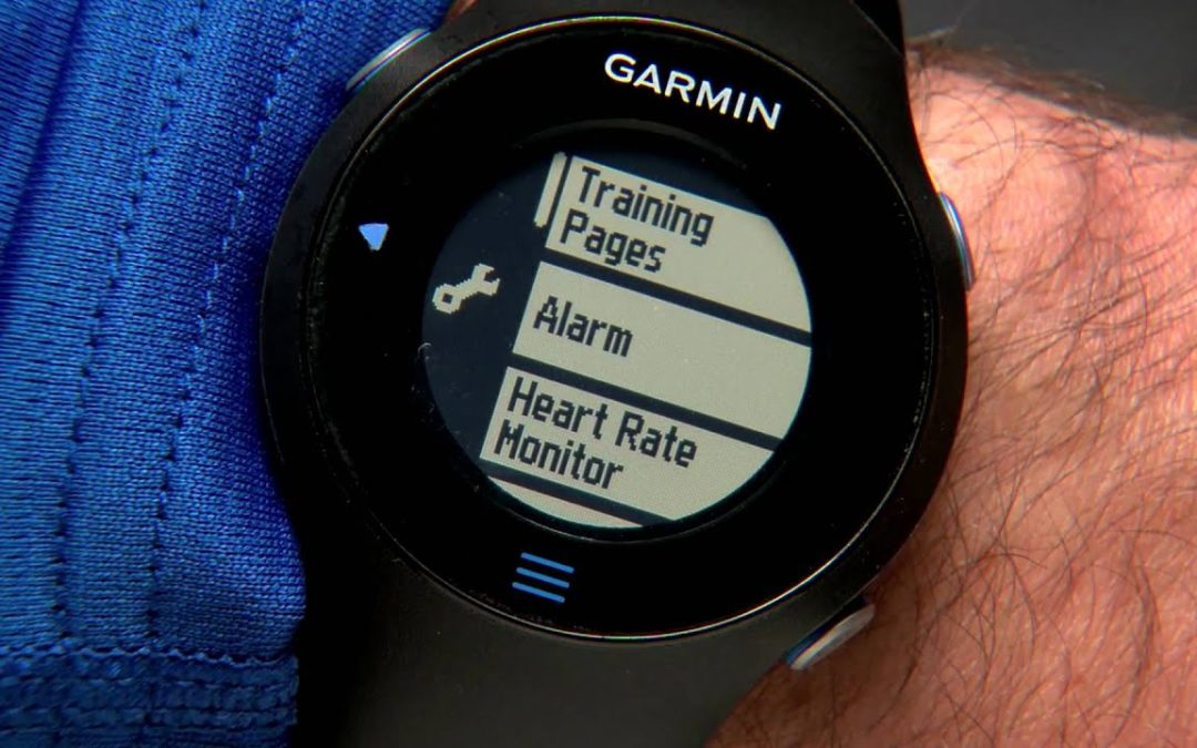 Forerunner 610: Heart Rate Training