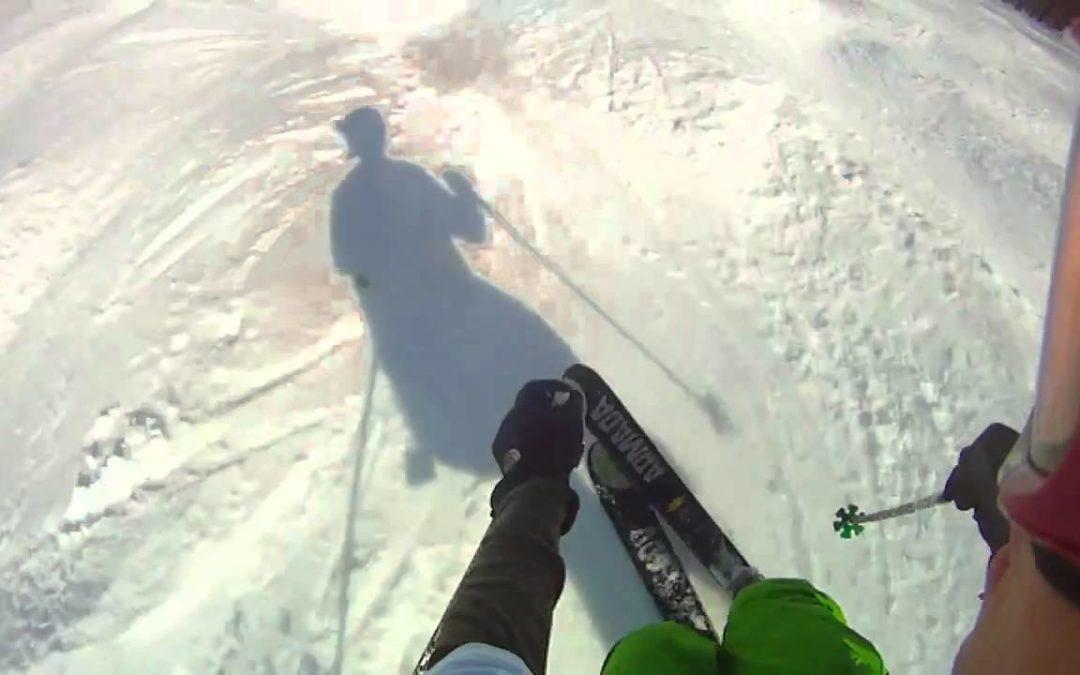 Telemark Skier POV – Drift HD170 Stealth