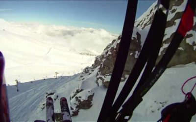 Skiing in Chile with Drift Cameras