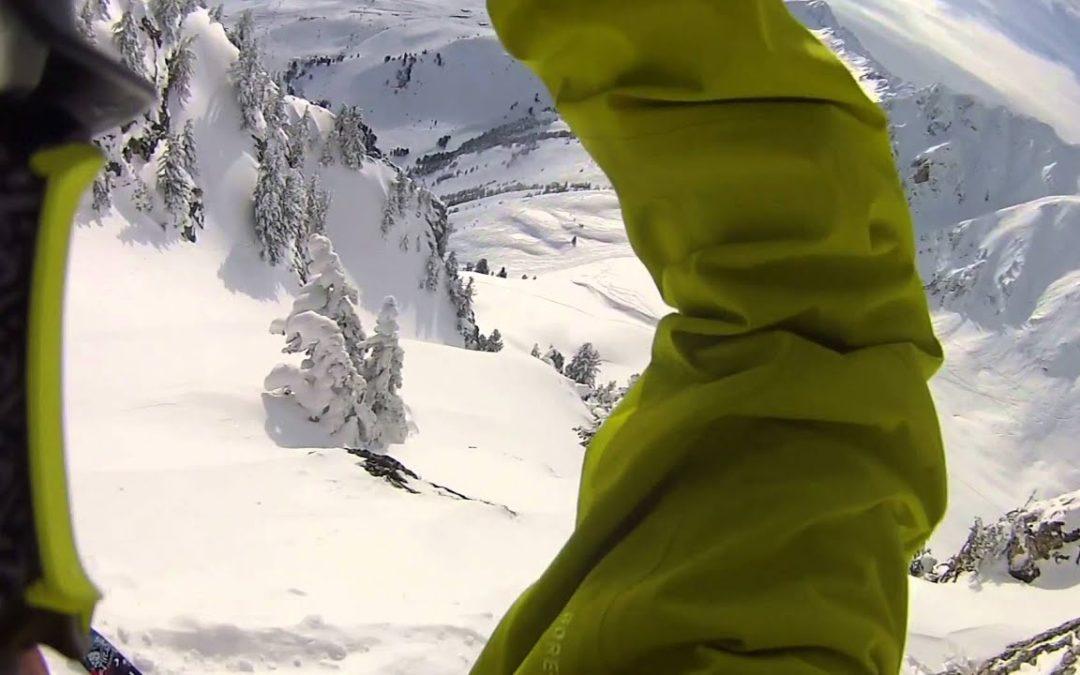 Drift HD Ghost: Thibaud Duchosal Vlog Episode 3 in Les Arcs