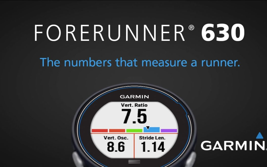 Forerunner 630: The Numbers that Measure a Runner