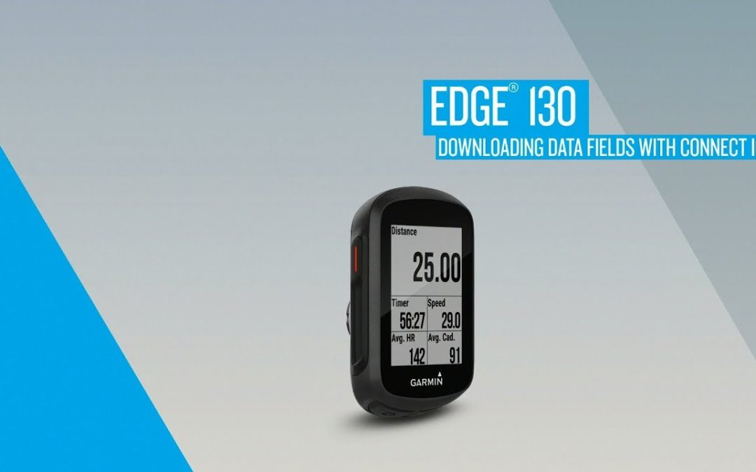 Edge 130: Downloading Data Fields with Connect IQ