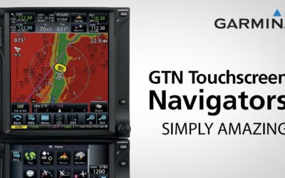 Garmin GTN 650/750 series touchscreen navigators