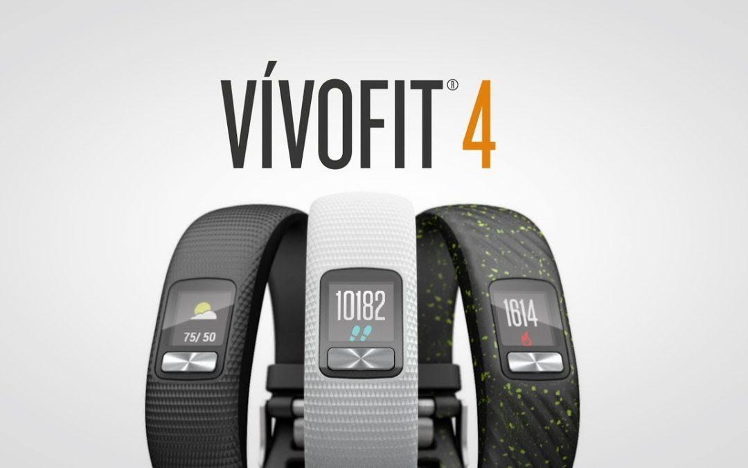 vívofit 4: Activity Tracker with 1+ Year Battery Life