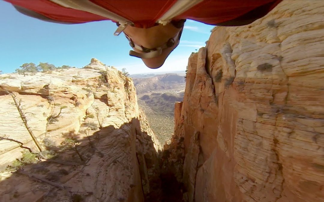 GoPro: Marshall Miller Flies Through A Narrow Canyon
